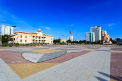 Main Town Square In Nha Trang, Vietnam Stock Photography