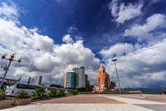 Main Town Square In Nha Trang, Vietnam Stock Image