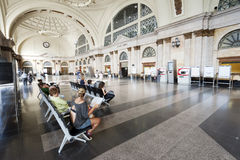 Main Train Station in Barcelona Royalty Free Stock Photo