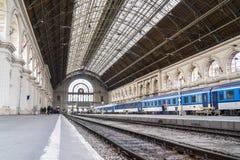 Main Train Station, Budapest, Hungary Stock Images
