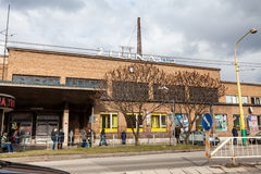 Main train station in the city centre of Zilina Royalty Free Stock Photography