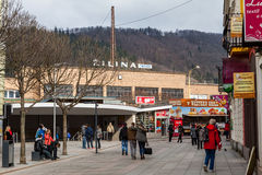 Main train station in the city centre of Zilina Stock Images