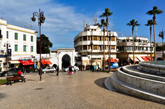 Main Train Station in Fes Royalty Free Stock Photo
