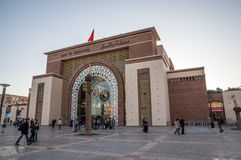 Main train station in Marrakesh stock photos