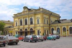 Main train station of Przemysl, Poland Stock Photos