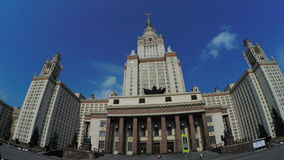 Main University of Moscow stock video