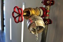 Main valve for water Stock Photos