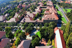 Main view Architecture in Stanford University Royalty Free Stock Images