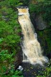 Main waterfall at Bushkilll Falls Royalty Free Stock Photo