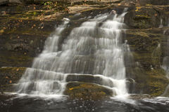 Main waterfall at Kent Falls State Park in western Connecticut. Stock Photo