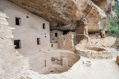 Main well in Cliff Palace ancient puebloan village of houses and dwellings in Mesa Verde National Park New Mexico USA Royalty Free Stock Photo