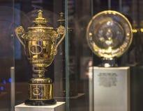 Main Wimbledon tropheys Royalty Free Stock Photos
