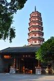 Guangzhou - Temple of the Six Banyan Trees Stock Photos