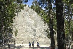 The main ziggurat stock photography