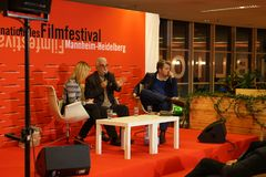 Mainactor Cezmi在Internationales Filmfestival曼海姆海得尔堡的Baskin m 2017年 库存照片
