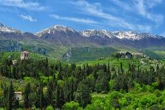 Mainarde av berg Royaltyfri Foto
