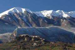 Mainarde, zentraler Italiener Apennines lizenzfreie stockfotos
