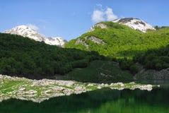 Mainarde, zentraler Italiener Apennines lizenzfreies stockfoto