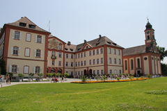 Mainaueiland, Bodensee, jaar 2013 Royalty-vrije Stock Afbeelding