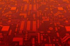mainboard компьютера цепи Стоковые Изображения