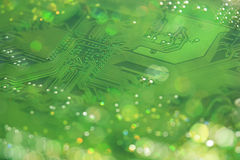 Mainboard Bokeh Stock Images