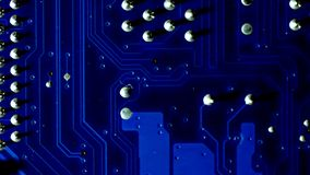 Mainboard Close Up royalty free stock images