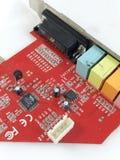Mainboard del chip Fotografie Stock