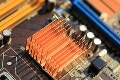 Mainboard del computer Fotografia Stock