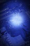 Mainboard del ordenador Imagen de archivo libre de regalías