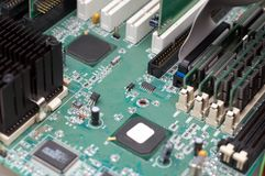 Mainboard do computador Fotos de Stock