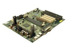 mainboard komputerowy obraz stock