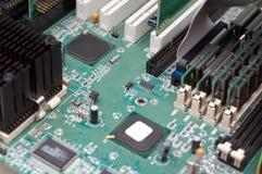 mainboard komputerowy zdjęcia stock