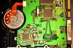 Mainboard ou prato principal do disco rígido Imagens de Stock