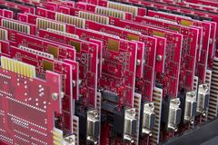 Mainboards stock foto