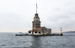 Mainden tower Istanbul Stock Images