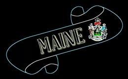 Maine ślimacznica ilustracji