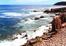 Maine Atlantic Coast View Stock Photo