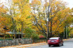 Maine Autumn Royalty Free Stock Images