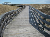 Maine Boardwalk Royalty Free Stock Photography