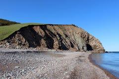Maine Clifftop Arkivbild