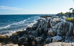 Maine Coastline Royaltyfri Fotografi