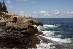 Maine Coastline Stock Photography