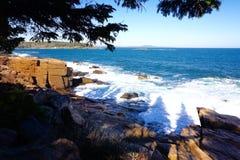Maine Coastline Immagini Stock Libere da Diritti