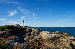 Maine Coastline hermosa Foto de archivo libre de regalías