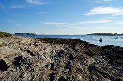 Maine Coastline hermosa Fotografía de archivo libre de regalías