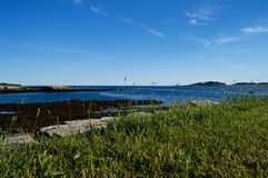 Maine Coastline hermosa Foto de archivo