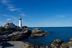 Maine Coastline hermosa Fotos de archivo libres de regalías