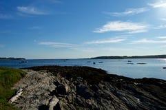 Maine Coastline hermosa Imagen de archivo libre de regalías