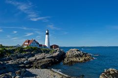 Maine Coastline hermosa Imagen de archivo