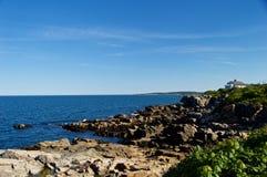 Maine Coastline hermosa Fotografía de archivo
